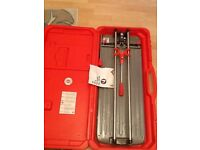 RUBI tile cutter TS-60-PLUS used for one job as new