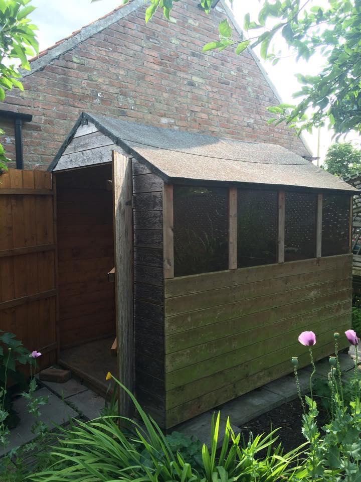 Wooden garden shed in newark nottinghamshire gumtree - Garden sheds nottingham ...
