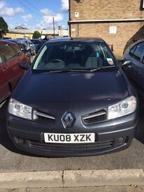 Renault megane. Diesel. £30 tax .service history.2 keys. MOT EXPIRES 08.17