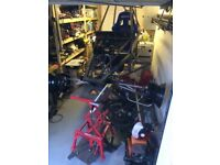 Off road buggy piranha project Honda cbr