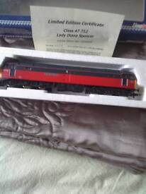 Train locomotive class 47
