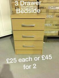 Bedside Lockers for Sale