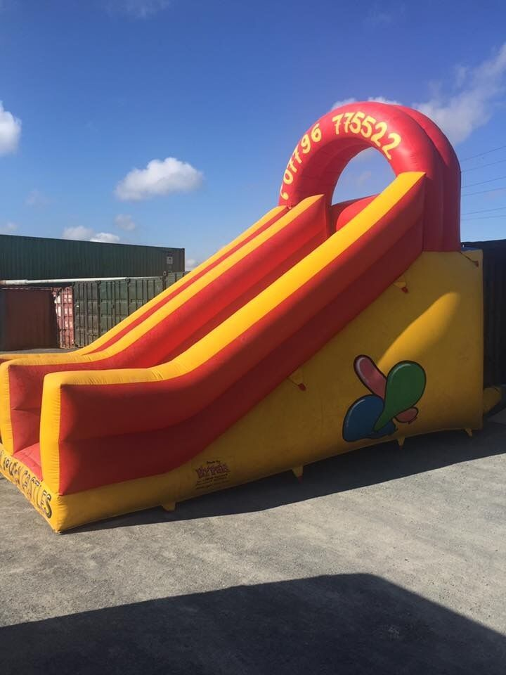 Bouncy Castle Slide 8ft platformin Belfast City Centre, BelfastGumtree - QUICK SALE!!! 8ft platform slide in good condition comes with blower selling for new stock arriving no time wasters can be seen up also pm for price