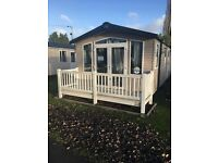 Luxury 3 bed platinum caravan Haven Wild duck holiday park Norfolk