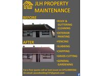 Roof & Guttering Cleaning+Property Maintenance
