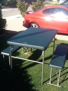 Flat pack camping table Byford Serpentine Area Preview