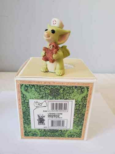 """2000 Whimsical World of Pocket Dragons  """" Loving Care """" Mint In Box"""