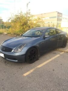 2005 Infiniti G35 Coupe (2 Door) Etested- Automatic