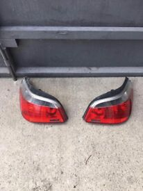 BMW, 525D, MSPORT, E60, 2006 PLATE, REAR LIGHTS