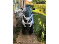 Piaggio MP3 250cc with new MOT