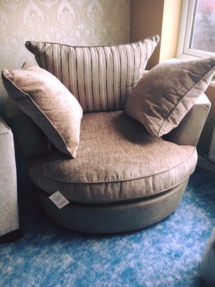 Sofology cuddler swivel chair **Brand new**