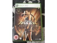Xbox 360 game Tomb raider anniversary
