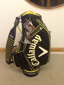 Brand New Callaway Limited Edition 2016 US Open City Of Champions Oakmont Staff Golf Bag