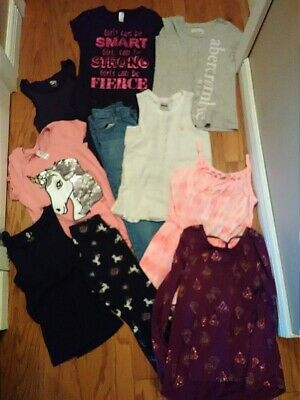Girls clothes lot size 10-12 Justice, Abercrombie, Old Navy,++ Great Condition.