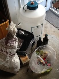 Selection of equipment to do own home brew