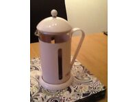 Lovely Pink Cafetière - 8 cups - £15