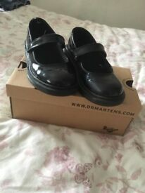 Girls Dr Marten school shoes -size 11.5