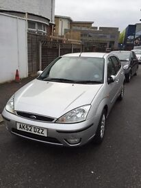 Ford Focus 1.6 Ghia 2002 Power Steering Electric Windows Central Locking Air Con CD Player