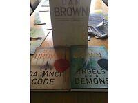 Dan brown book set