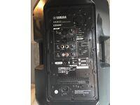 2x Active Speaker-yamaha dxr12 £460 each or £800 for both