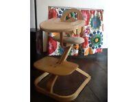 Lovely wooden Sven high chair