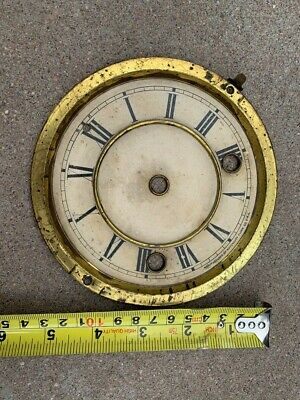 ANTIQUE/VINTAGE WATERBURY MANTLE CLOCK DIAL