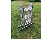 Youngmans multi purpose folding ladder. Full working order. Good used condition.