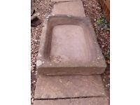 Original stone trough