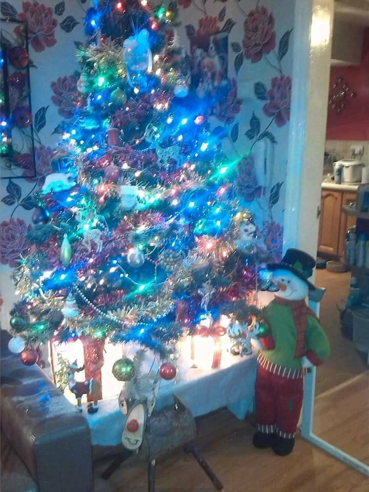 6ft pine cone Christmas tree