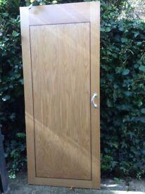 Internal flat door