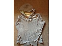 Grey Hollister Hoody