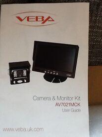 Vehicle reversing cameras 12 & 24 volt for motorhome vans trucks
