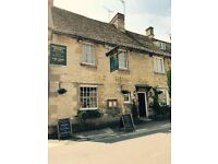 Front of House/Waiting Staff Needed At Very Popular Country Pub (Full Time/Part Time Available)
