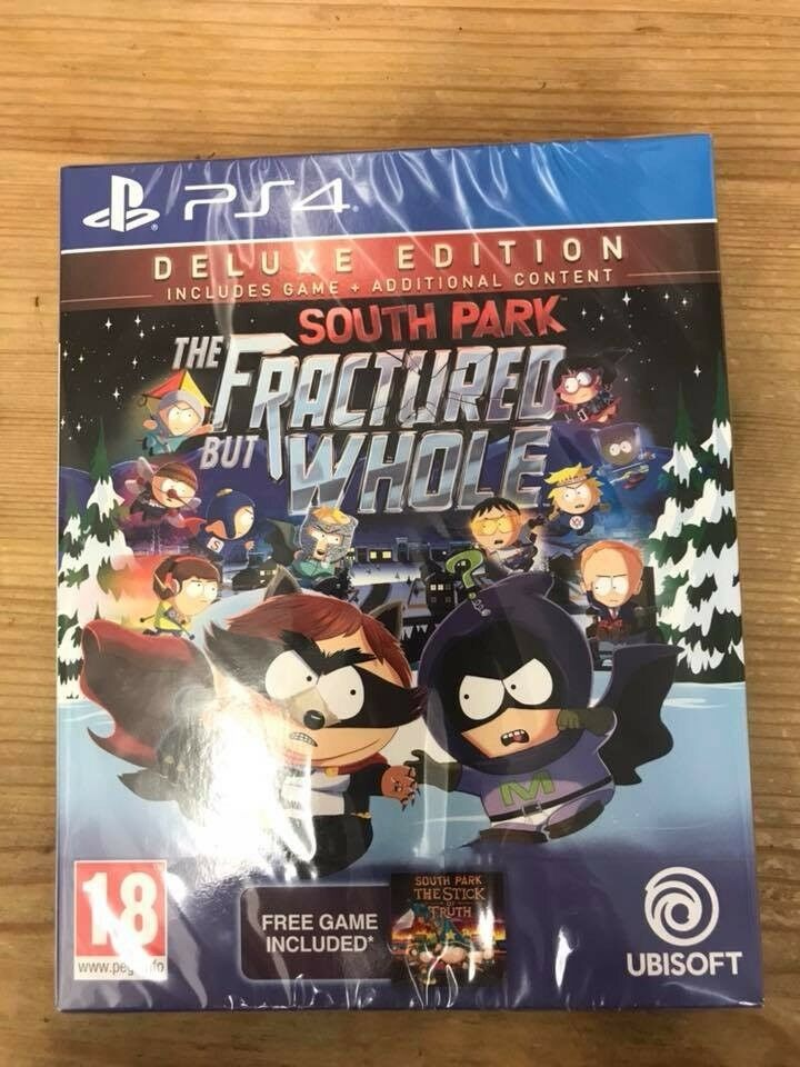 South Park The Fractured But Whole PS4 + SEASON PASS Brand New!!