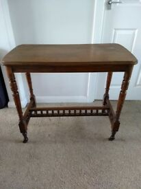 Antique Hall / Side / Window Table