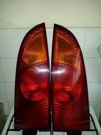Ford focus rear lights pair