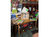 custom wooden vinyl box