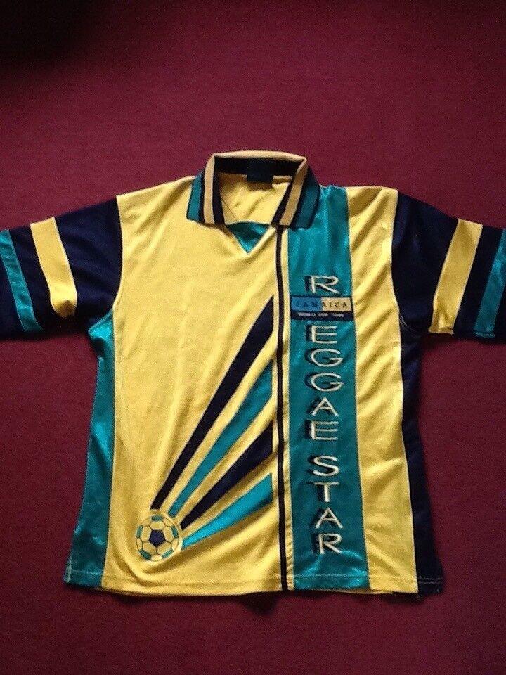 brand new 8a0d5 544c5 Jamaica Football Shirt - 1998 France World Cup   in Paignton, Devon    Gumtree