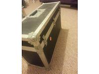 2 small flight cases