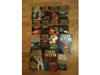 13 Colin Dexter - Inspector Morse Books - Crime Fiction - TV Series
