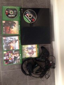 xbox one with 7 games 500gb