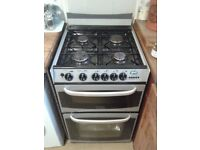 Cannon Chester Free Standing Gas Cooker. Double Oven, 4 Burner Hob & Grill