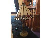 Tiffany style lamp.