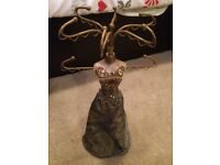 Necklace/jewellery mannequin stand