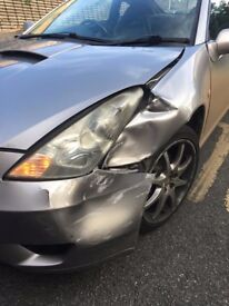 Toyota Celica T-Sport - Spares or Repairs - Little Damage - Low Miles