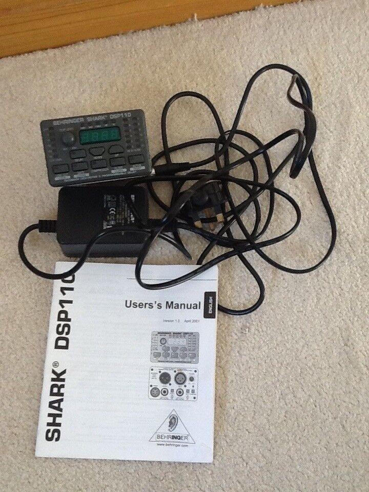 Behringer Shark DSP 110 Anti-feedback device