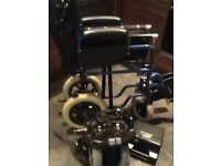 Power stroll Drive Westcare attendant controlled electric wheelchair