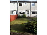 2 BEDROOM MID-TERRACED HOUSE TO LET - BONNYTON DR, EAGLESHAM - CATCHMENT ST NINIAN'S & MEARNS CASTLE