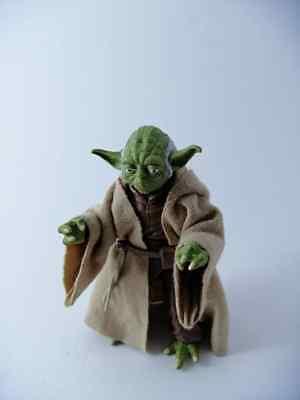 Black Jedi Robe (Custom Jedi Robe Wheat Brown for Yoda Star Wars 6 inch Black Series NO)