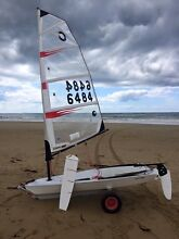 Open Bic Youth sailing boat Jan Juc Surf Coast Preview